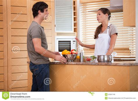 Talking Kitchen by Talking In The Kitchen Stock Image Image Of