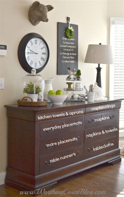 Adding Farmhouse Style To The Kitchen And Dressers Aren't