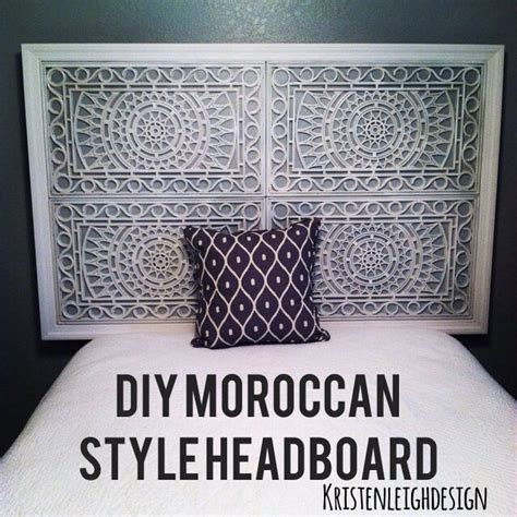 Rubber Doormat Headboard by Make A Moroccan Style Inspired Headboard Out Of Rubber