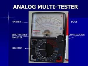 30 Circuit Of Analog Multimeter  Multimeter Analog Of