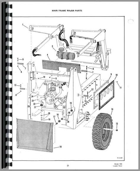 Bobcat Skid Steer Hydraulic System Diagram by Bobcat 753 Parts Diagram Model Wiring Diagram
