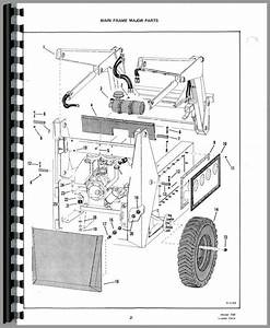 Bobcat 722 Skid Steer Loader Parts Manual