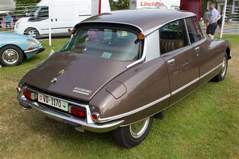 Citroën Ds23 Ie  Entrant Alexis Saucy  2015 Goodwood
