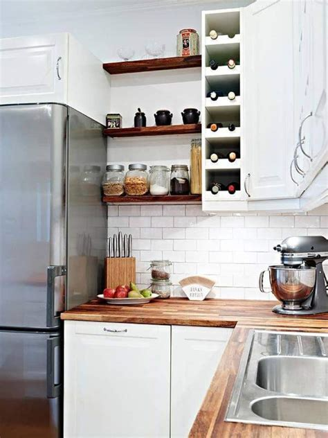 bright ideas  incorporating open shelves  kitchen