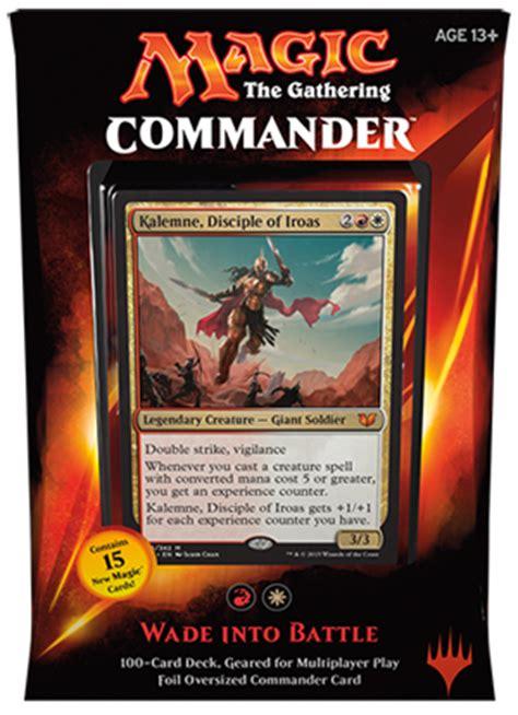 mtg deck battle simulator mtg commander 2015 wade into battle deck on sale at toywiz