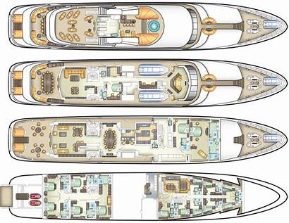 Yacht Deck Plans Luxury Private Cruise Yachts