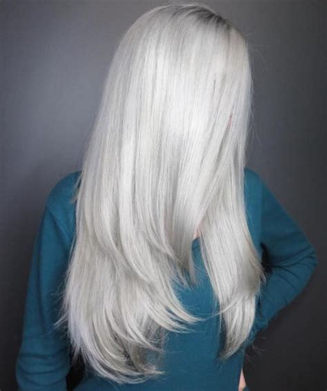 And White Hair by 40 Hair сolor Ideas With White And Platinum Hair