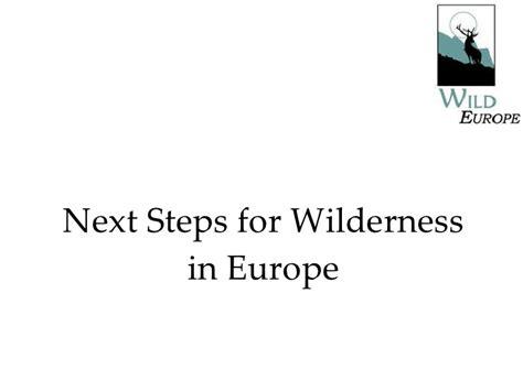 wilderness steps europe aykroyd toby slideshare