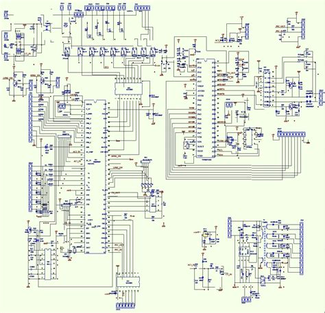 Air Conditioner Pcb Circuit Diagram