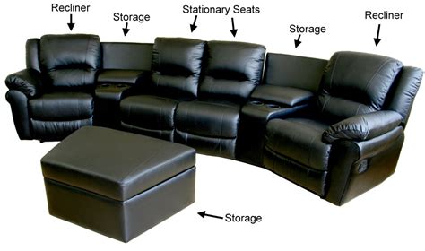 Sectional Sofas With Recliners And Cup Holders by How To Choose The Perfect Home Theater Seating Freshome Com