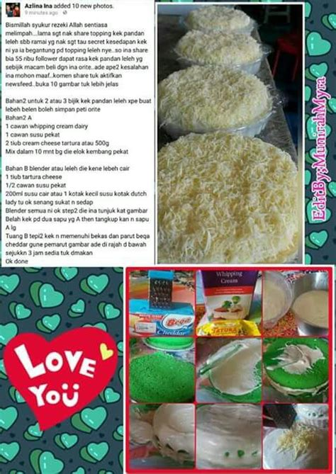 Kek Cheese Leleh Tiramisu Recipe