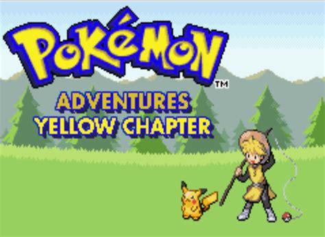Pokemon Yellow Rom Pokemon Adventure Yellow Chapter Hack Gba Rom Zona Kuantum