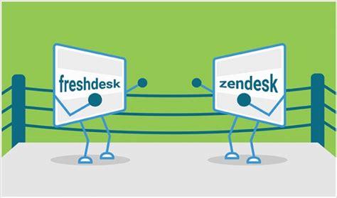 freshdesk vs zendesk the best customer helpdesk software