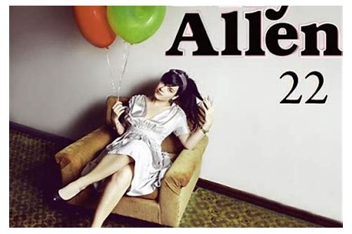 lily allen 22 mp3 download