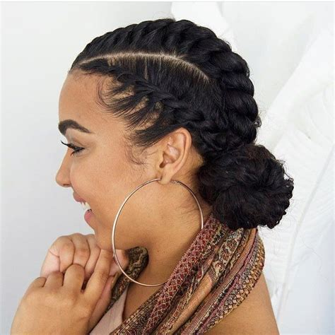 can t cornrow try flat twisting simple and cute