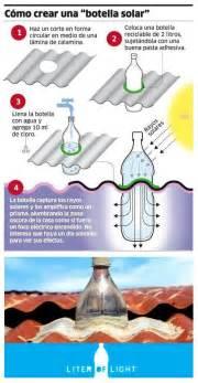 como hacer una botella solar muy ingenioso