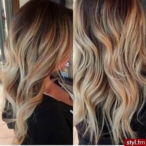 Balayage Cheveux Frisés : cheveux balayage caramel ~ Farleysfitness.com Idées de Décoration