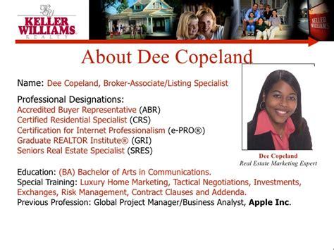 Copeland Group Generic Listing Presentation