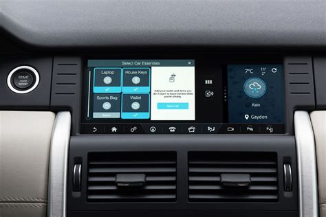 jlr gets tile bluetooth tracker app into infotainment system