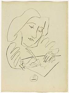 The gallery for --> Picasso Drawings Woman