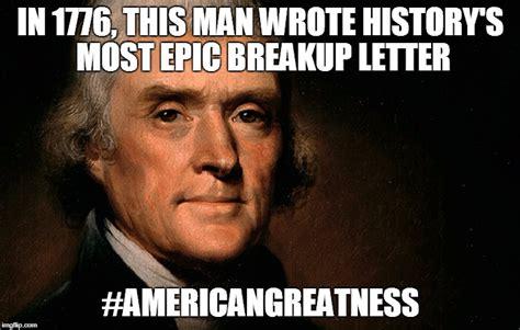 Thomas Jefferson Memes - dear george letter imgflip