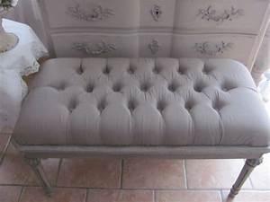 Bout De Lit Capitonné : bout de lit capitonne visuel 7 ~ Melissatoandfro.com Idées de Décoration
