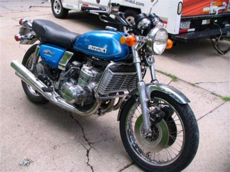 Suzuki Gt750 For Sale by Water Buffalo 1974 Suzuki Gt750 Classic Sport Bikes For