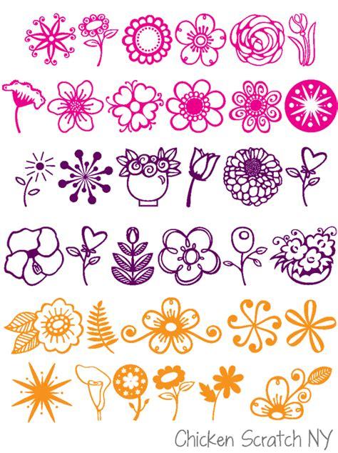 floral fonts