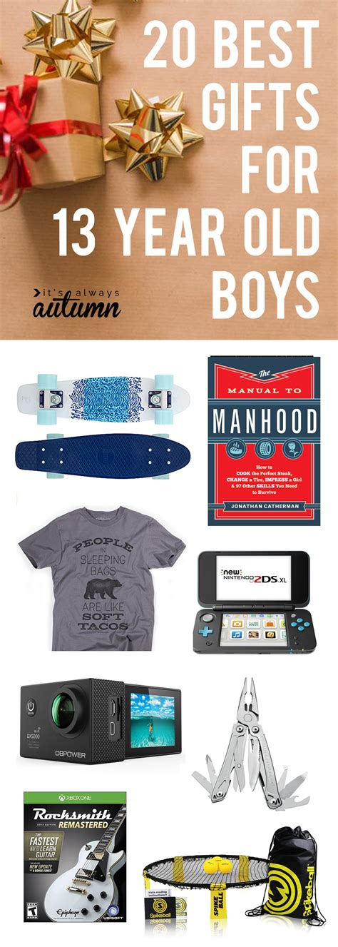 Best Christmas Gifts For 13 Year Old Boys  It's Always Autumn