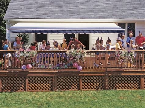 ft sunsetter vista manual retractable awning outdoor