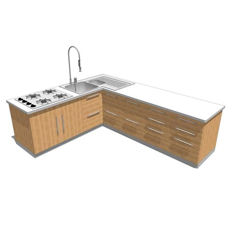 kitchen island units doga kitchen 3d model formfonts 3d models textures
