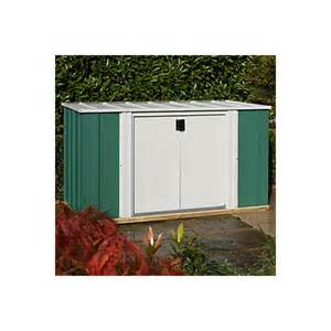 6x3 greenvale pent metal shed departments diy at b q