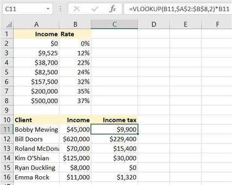 excel formulas  accountants