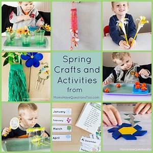 Spring Crafts And Activities For Preschoolers