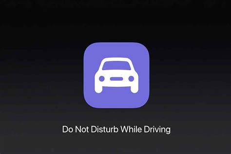 do not disturb iphone for one contact apple introduces do not disturb while driving for new