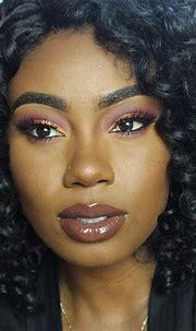 Pin by nafissadiallo on Dark Skin Looks | Baked blush ...
