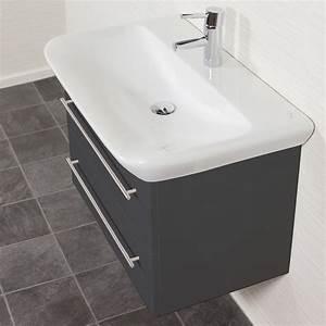 Keramag Myday Waschtisch : bad waschtisch mit keramag becken myday 2 ausz ge 80 cm breit grau bad waschtische ~ Buech-reservation.com Haus und Dekorationen