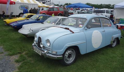 saab story swedish cars prominent at carlisle import show classiccars com journal