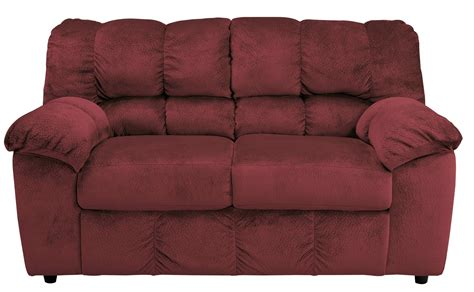 Coleman Loveseat by Julson Burgundy Loveseat From 2660235 Coleman