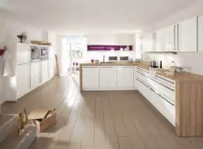 Deco Cuisine Blanche Design cuisine blanche d 233 co violette