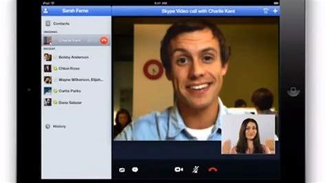 skype  ipad demo video leaks silently  verge