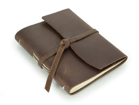 cuero journals rustic leather writing journal the parley by blue sky papers