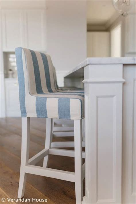 verandah house interiors love  blue  white striped