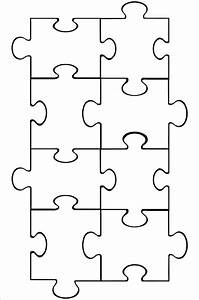 top 25 ideas about puzzle piece template on pinterest With giant puzzle template