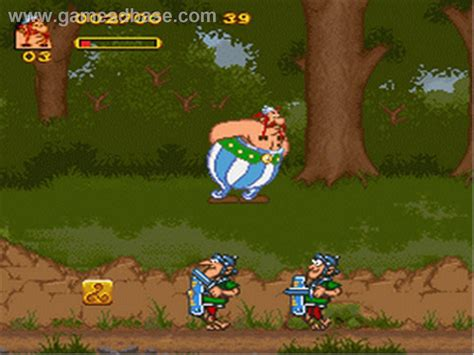 asterix  obelix   full game speed