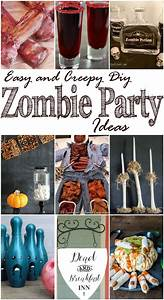 Easy, And, Creepy, Diy, Zombie, Party, Ideas, Mm, 176