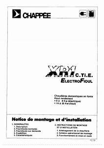 Chaudiere Fioul Chappee Notice : recherche chappee xr1 b xr1b chaudi re ~ Melissatoandfro.com Idées de Décoration