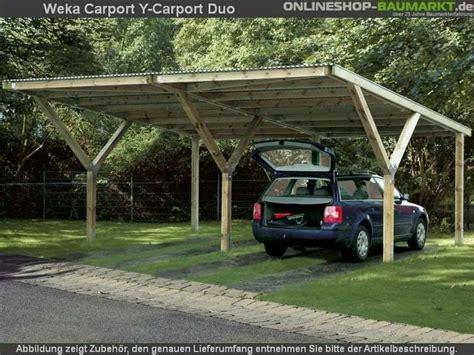 Weka Carport Ycarport Duo Kdi  Carport Mit Extravaganter