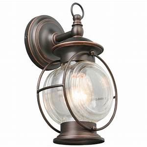 shop portfolio caliburn 1225 in h oil rubbed bronze With nautical outdoor deck lighting