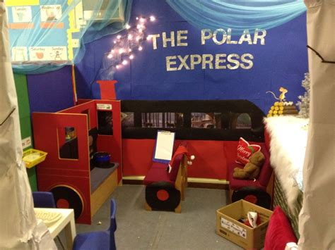 polar express christmas role play area role play